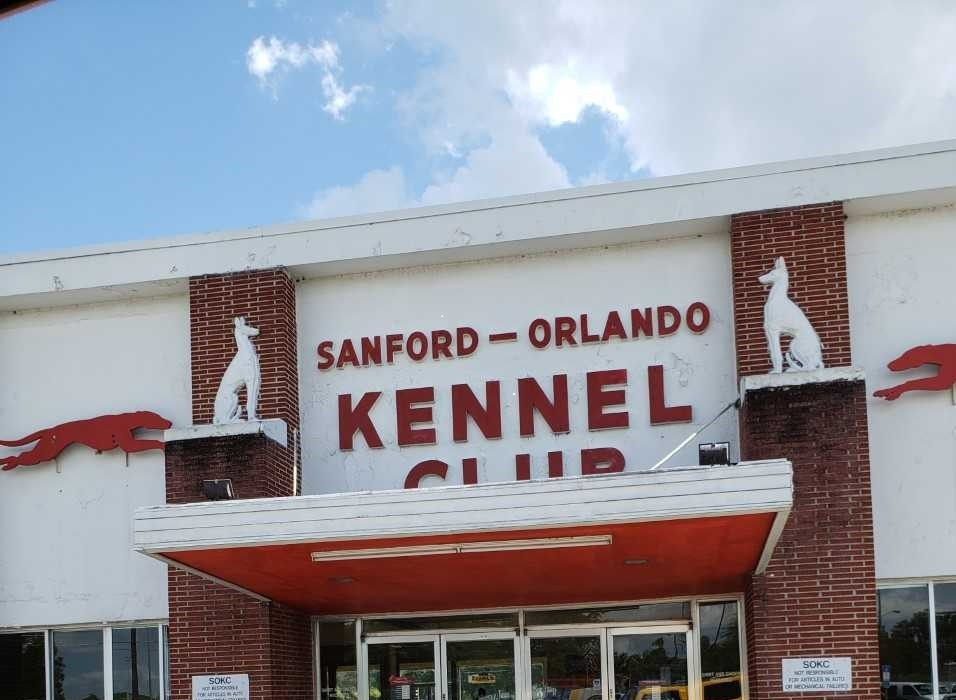 The Sanford Kennel Club has been home to greyhound racing for over 75 years. It's future remains precarious if Florida's Amendment 13 passes this November 6.