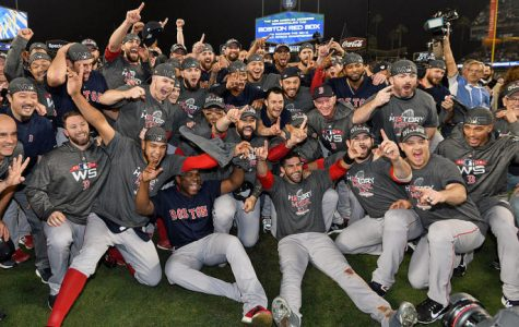In a convincing victory over the Dodgers, the Boston Red Sox earn their ninth World Series title.