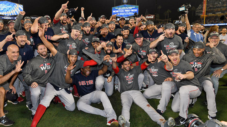In+a+convincing+victory+over+the+Dodgers%2C+the+Boston+Red+Sox+earn+their+ninth+World+Series+title.
